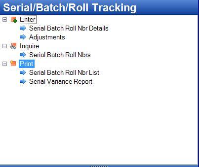 Tencia Serial Batch Menu